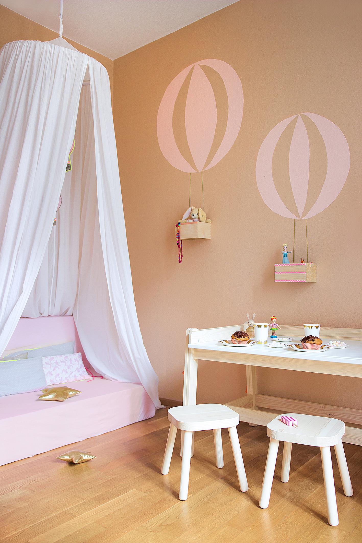 DIY Wand mit Ballon-Motiv • www.sammydemmy.de