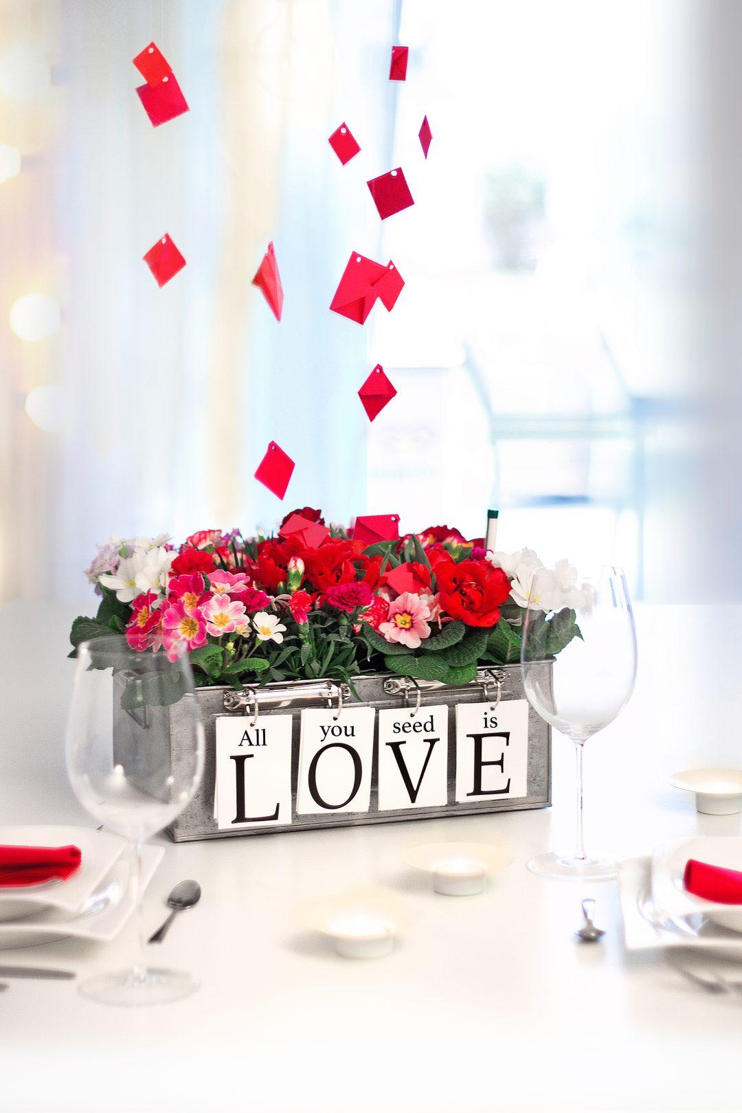 Blumige Liebeserklarung Zum Valentinstag