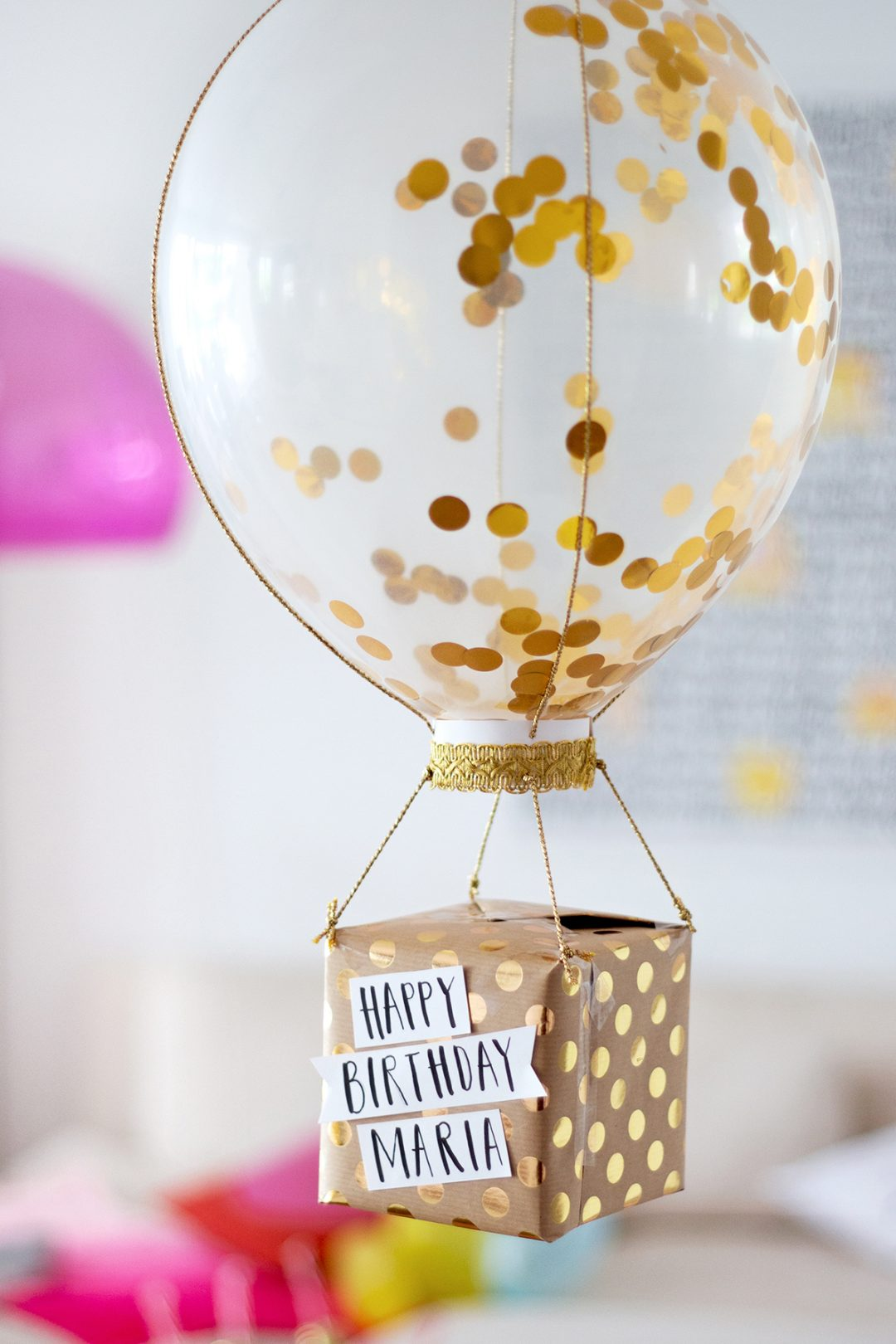 Geburtstagsgeschenke selber machen drei diy ideen - Geschenke zum 18 geburtstag selber machen ...