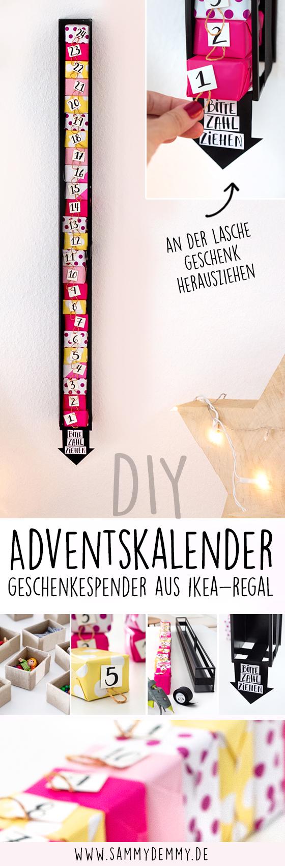 DIY Adventskalender Anleitung