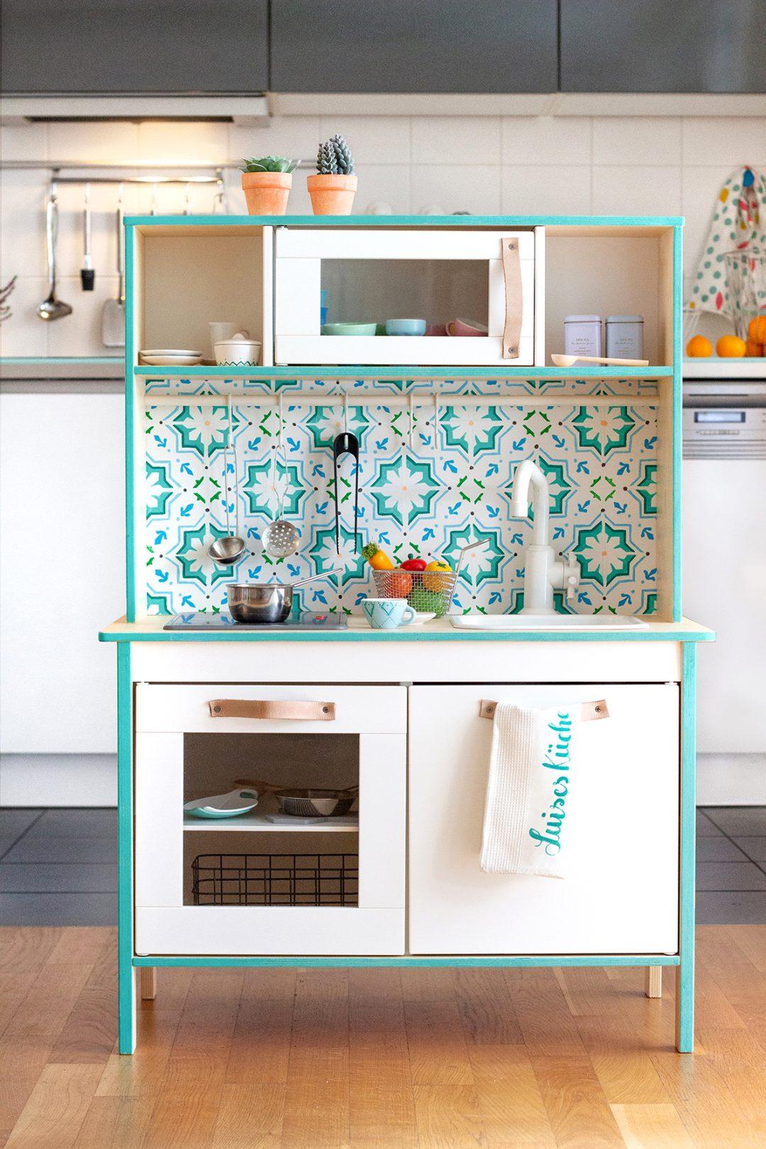 Pimp My Kitchen Ikea Duktig Kinderkuche Und Zubehor Bemalen