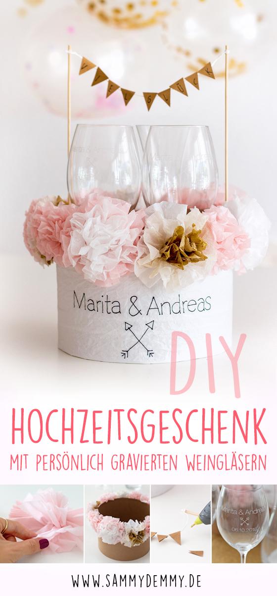 Hochzeitsgeschenk DIY