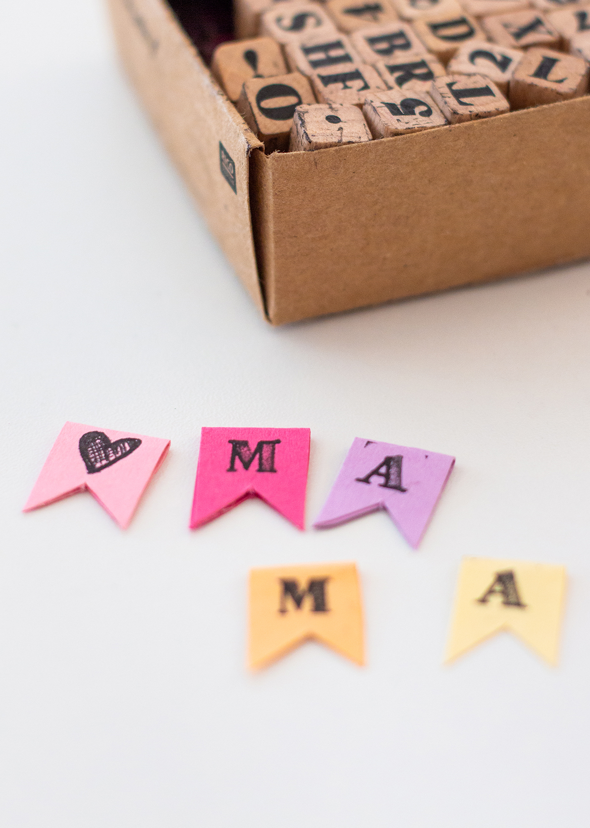 Muttertagsgeschenk basteln