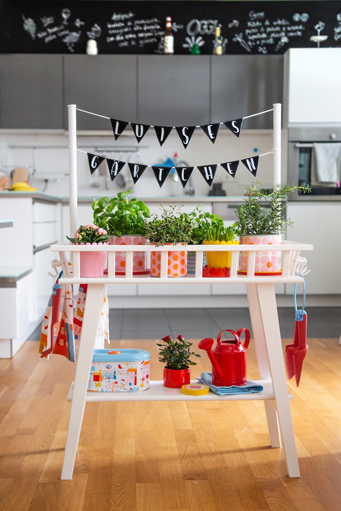 Garten Kinder DIY