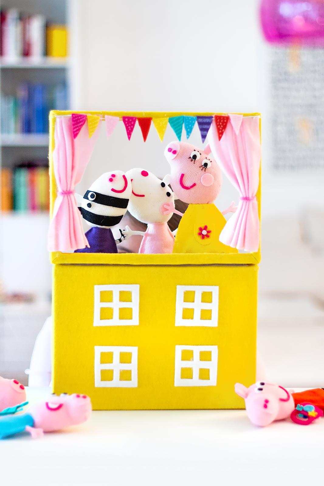 Puppentheater Peppa Wutz
