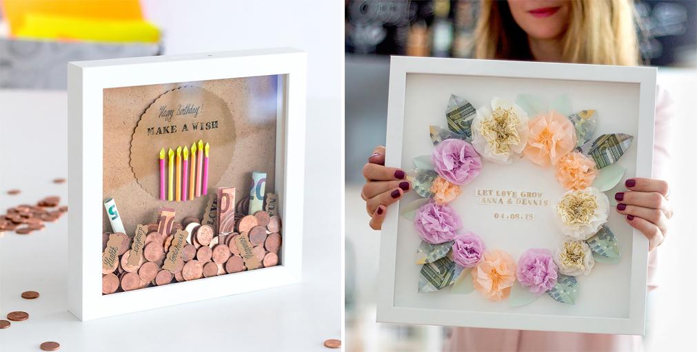 Diy Geschenkidee Geldgeschenk Für Hochzeit Und Geburtstag