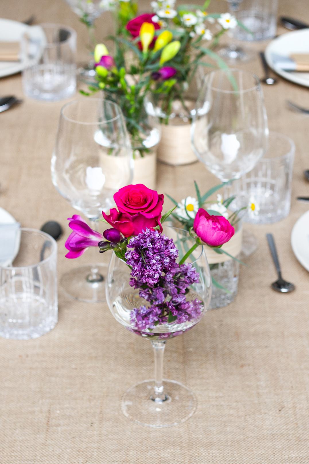 Blumen Glas