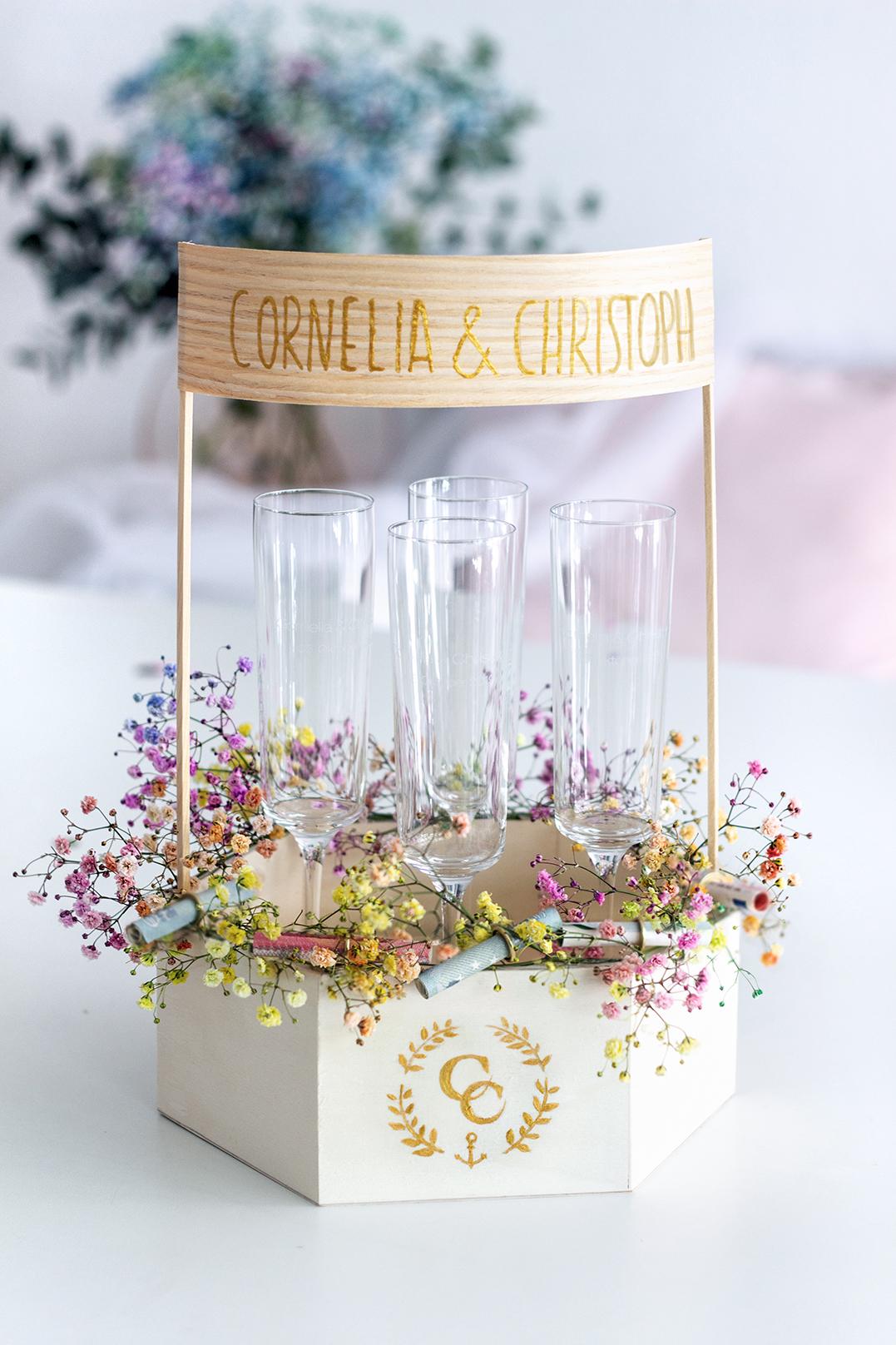 Geldgeschenk Ideen Zur Hochzeit Diy Ballon Gravierte