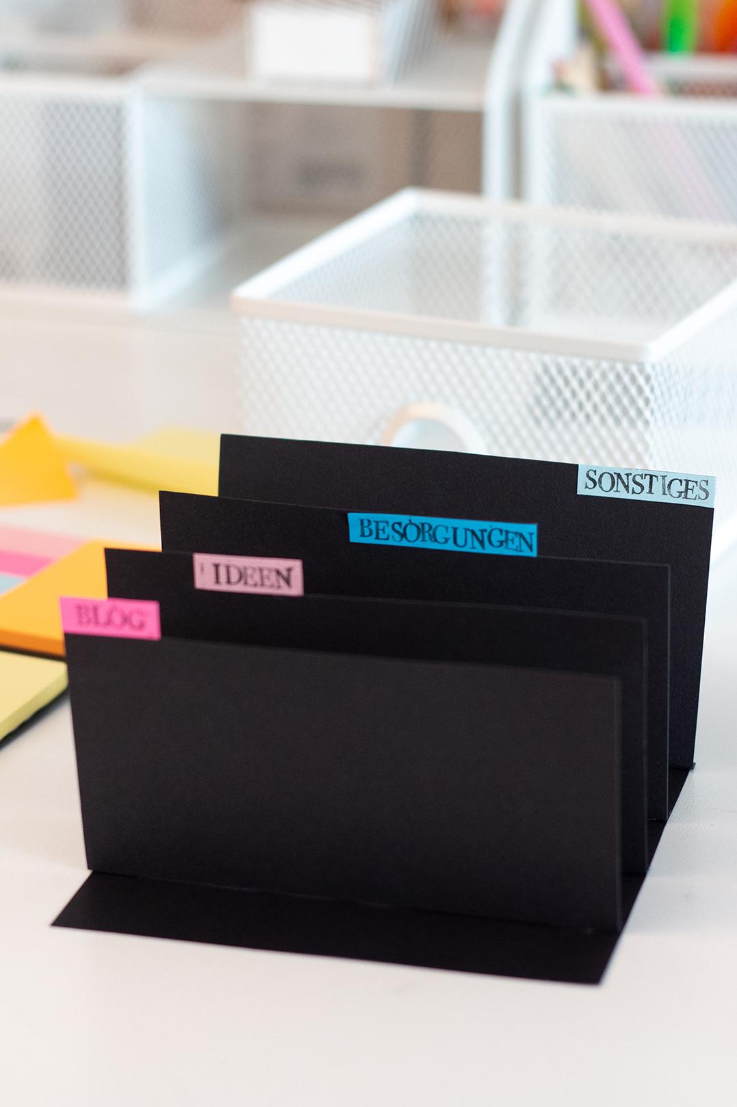 Schreibtisch Organizer diy
