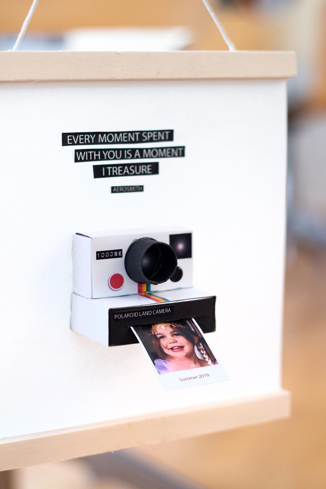 Fotogeschenk Polaroid Kamera