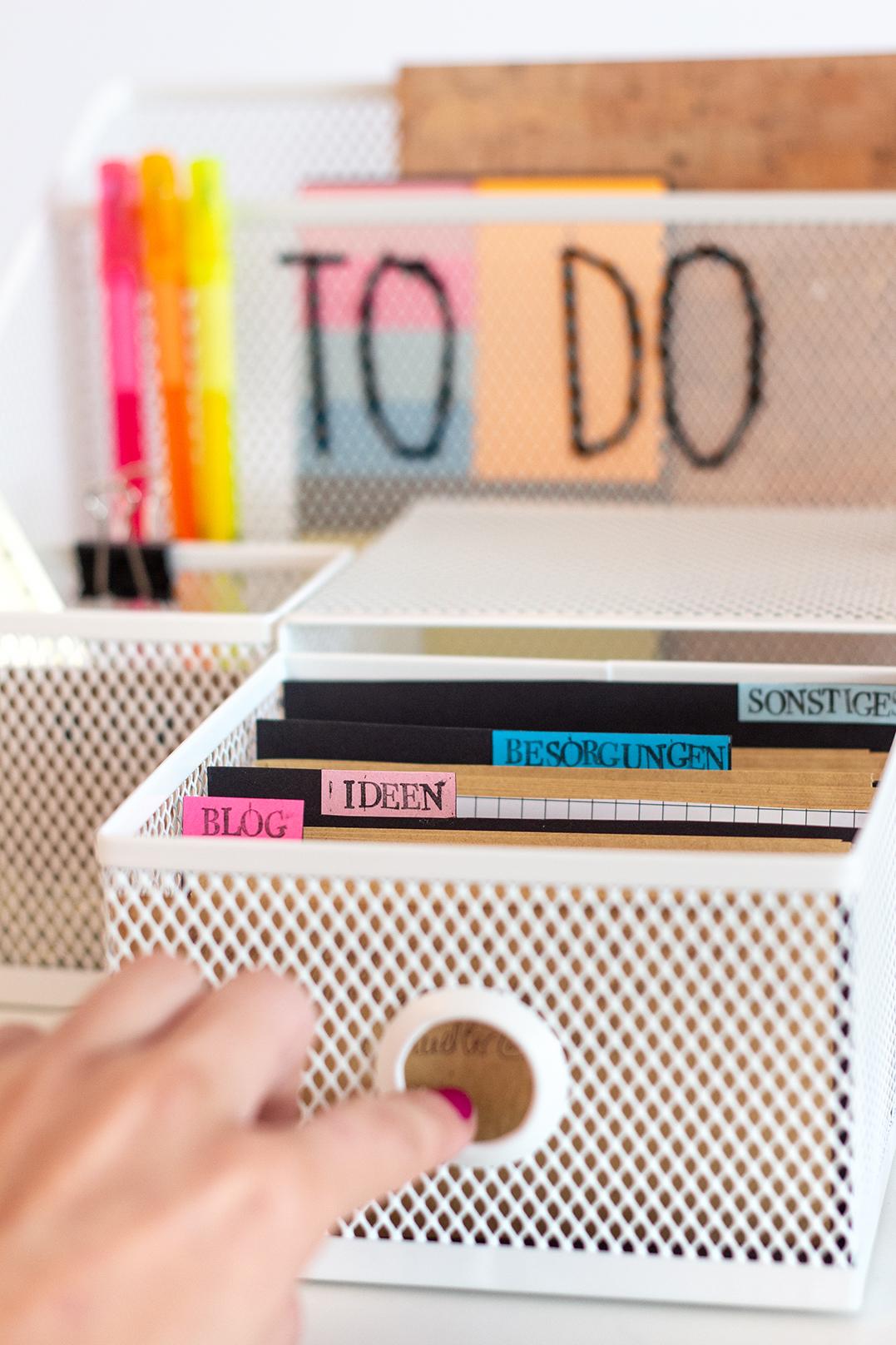 Organizer Schreibtisch