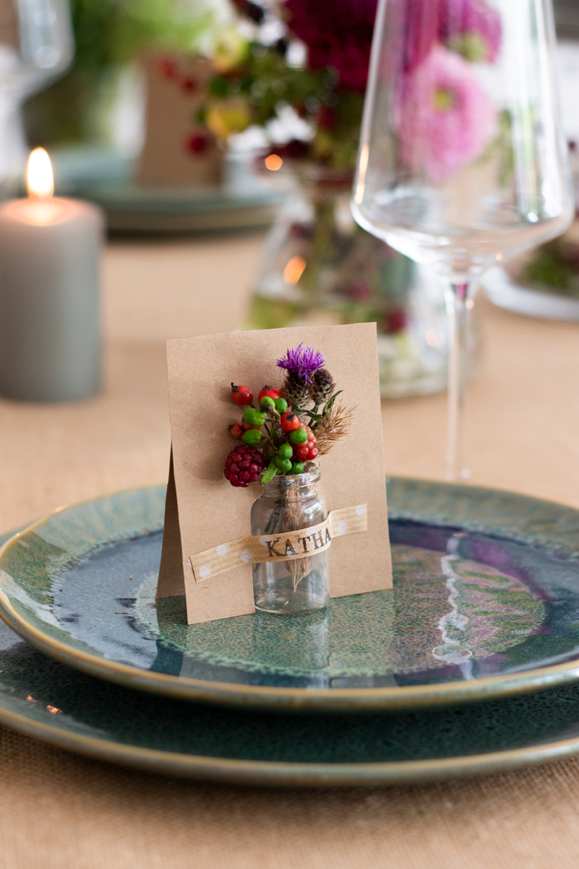 Herbstdeko für die goldene Jahreszeit: Tischdeko und DIY