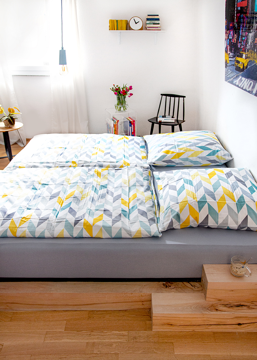 Schlafzimmer DIY