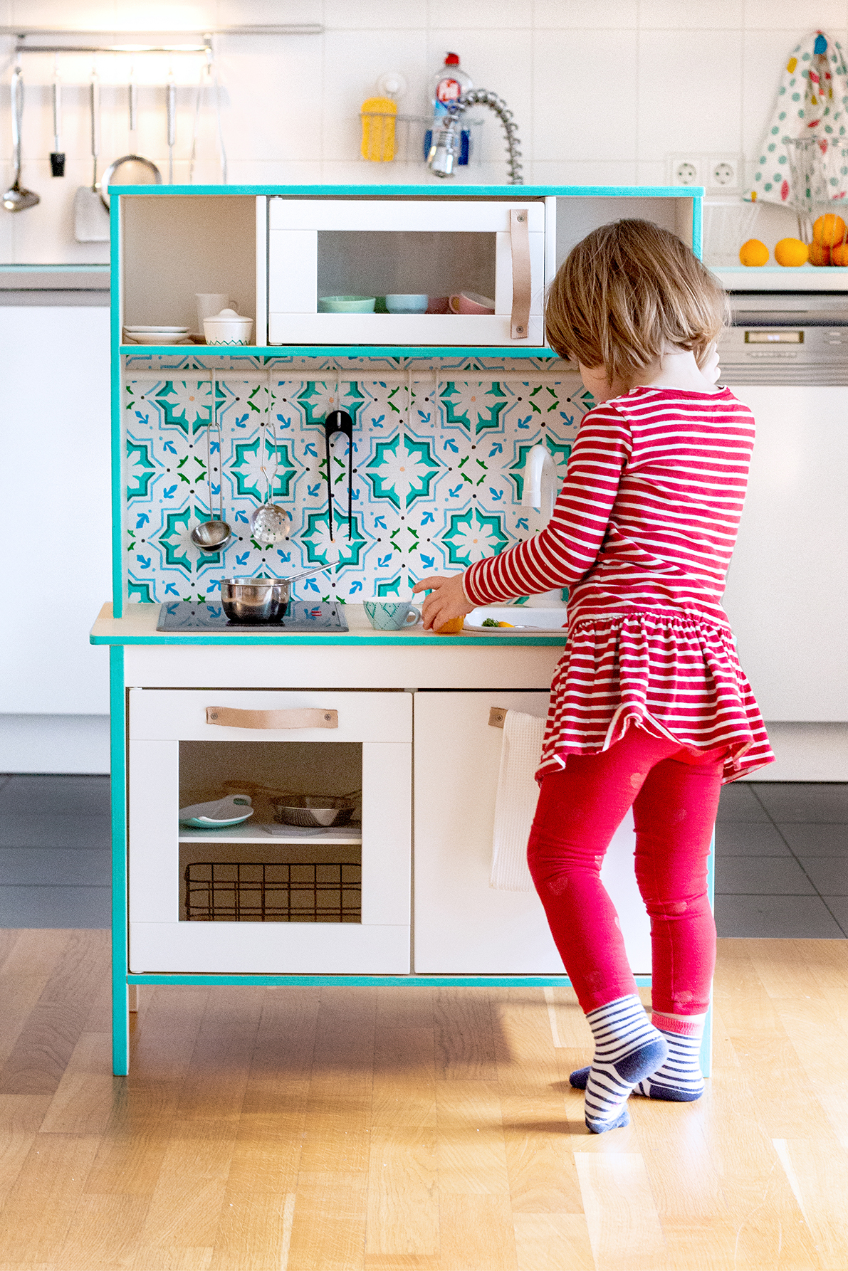 Kinderküche IKEA pimpen