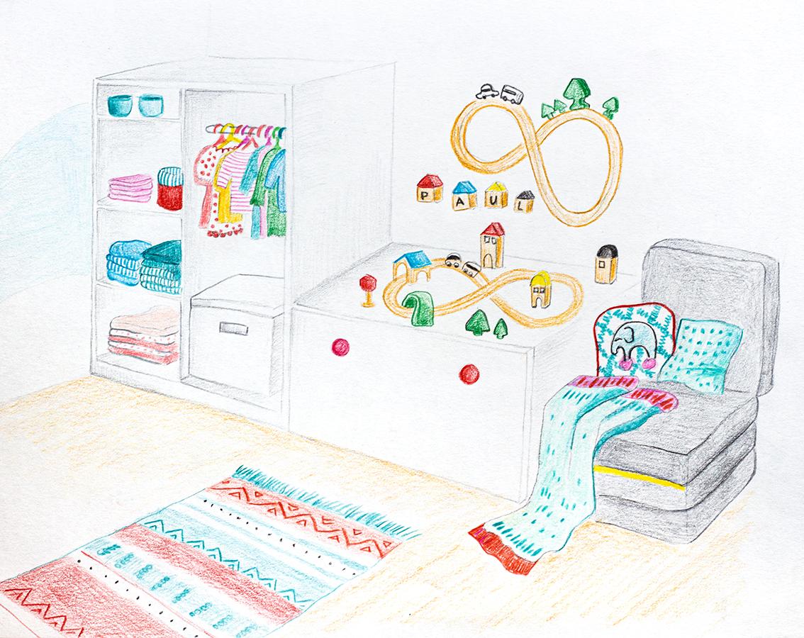 Babyzimmer Ikea Skizze