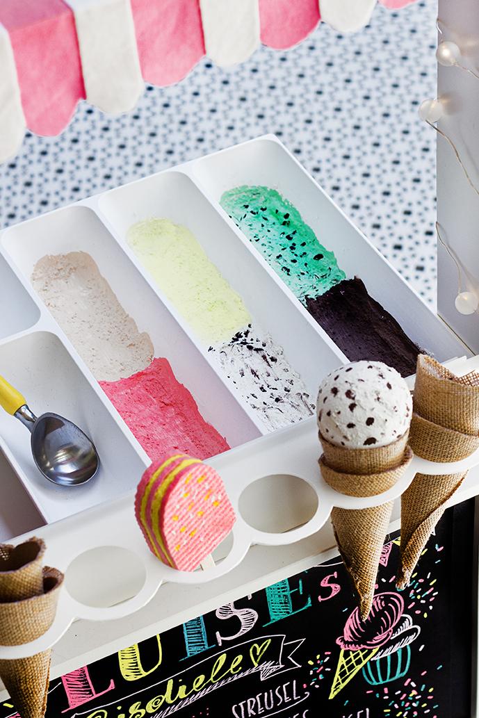 Eisladen basteln