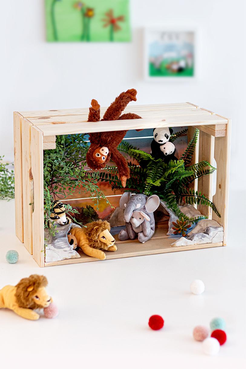 Zoo basteln