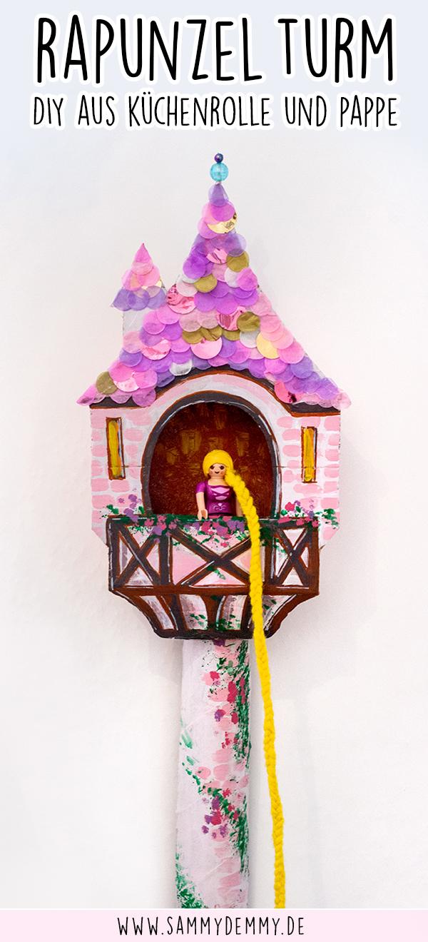 Rapunzel Turm DIY