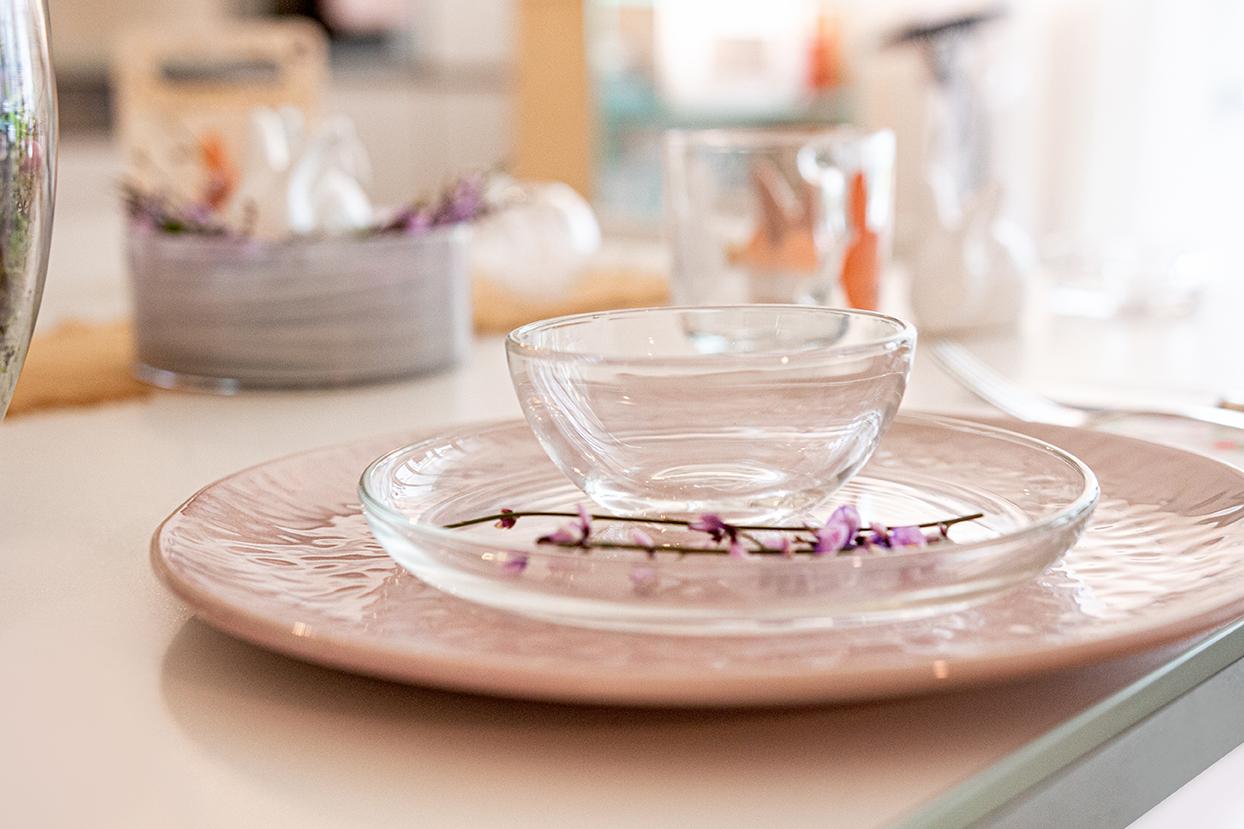 Gedeckter Tisch Ostern