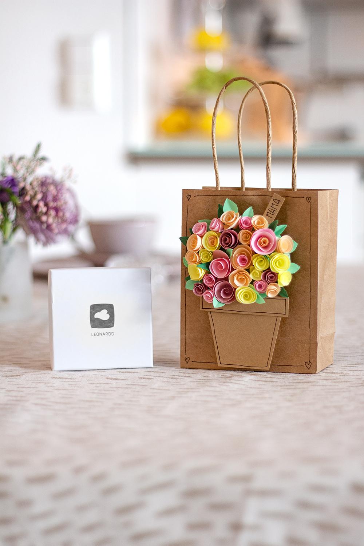 Muttertagskarte Blumen