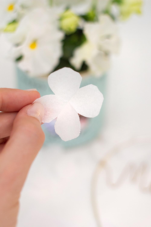 Blume basteln