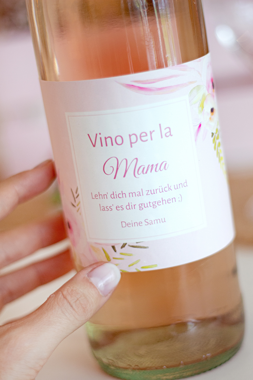 Wein Etikett bedrucken