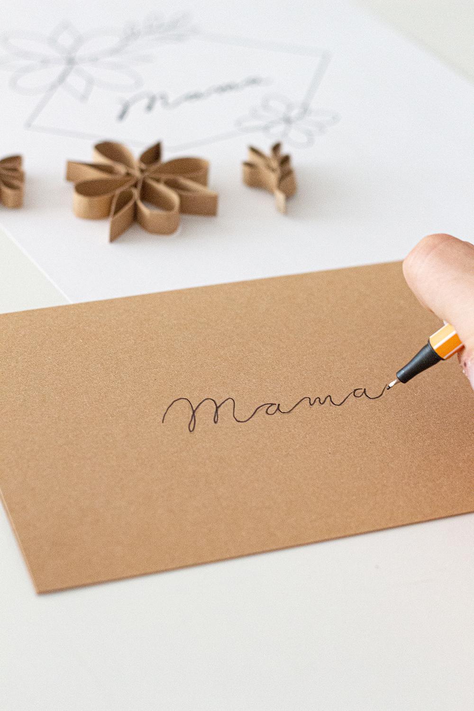 Muttertagskarte DIY