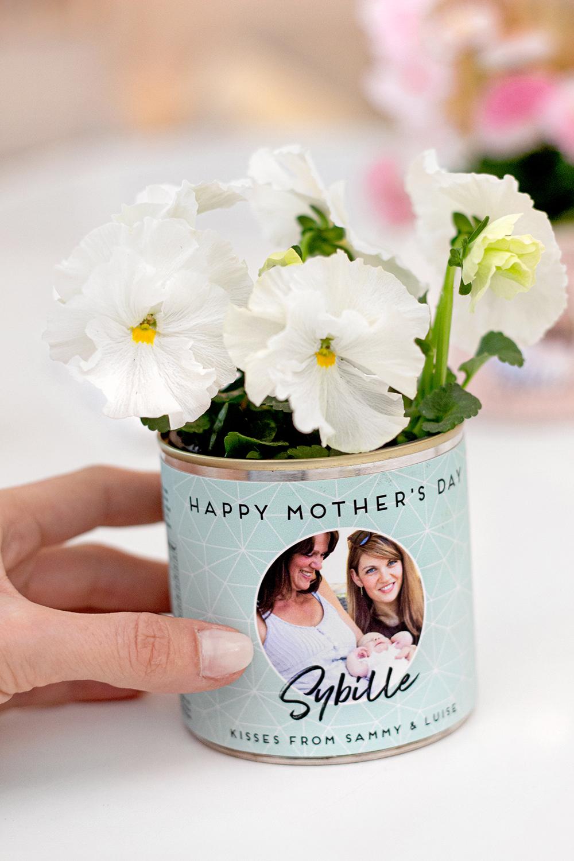 Blumentopf Muttertag