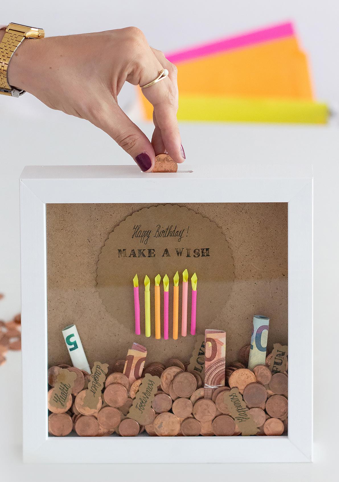 Geldgeschenk Geburtstag