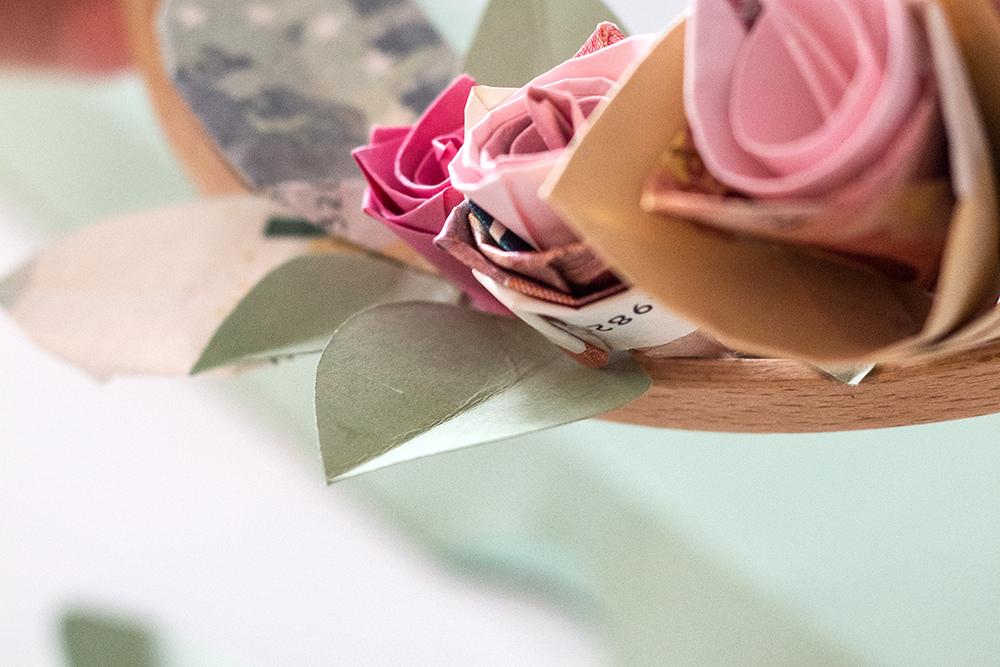 Rosen Papier falten