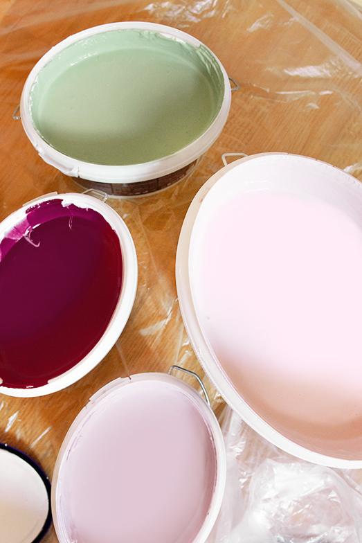 Farbkonzept Wandgestaltung