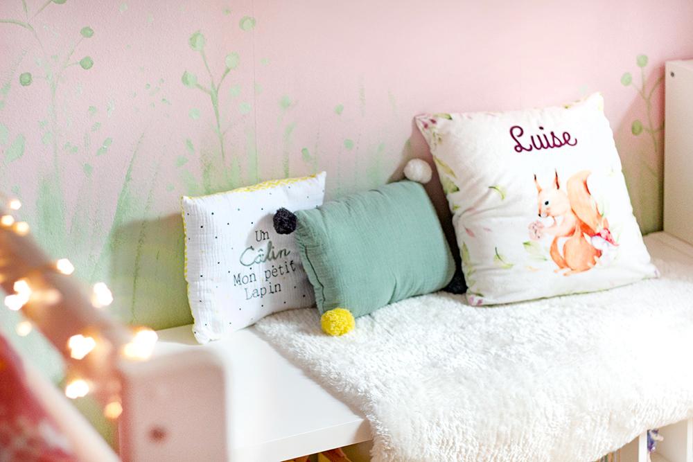 Wand Mädchenzimmer