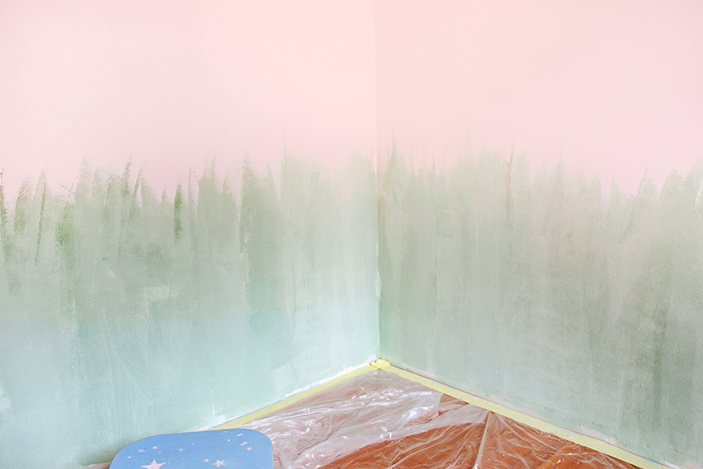 Mädchenzimmer streichen